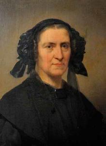 Portret van Ellisabeth Catharina  Terlet (1797-1880)