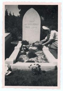 Het graf van Han van Meegeren