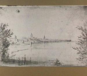 Nijmegen, gezien vanuit het noordoosten