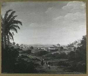 Landschap bij de rivier Senhor de Engenho, Brazilië
