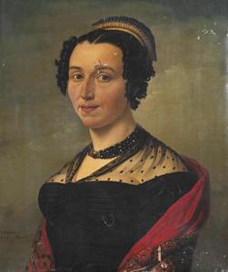 Portret van Catharina Johanna Heijde (....-1866)