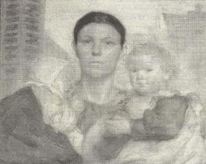 Moeder en haar twee kinderen
