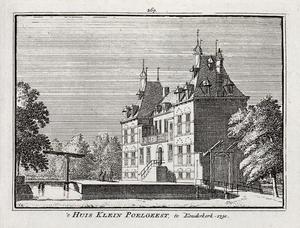 Het huis Klein Poelgeest bij Koudekerk aan den Rijn