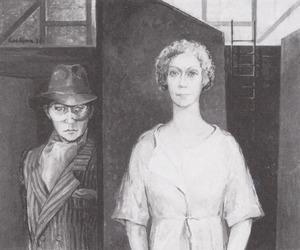 Portret van Annet Nieuwenhuijzen (1930- )