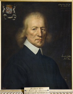 Portret van Robert Kerr (1578-1654) eerste Graaf van Ancram, op 72-jarige leeftijd
