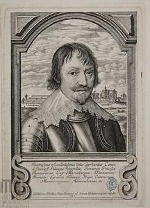 Portret van graaf Gerard Denhoff (1589-1648), raadsheer en senator