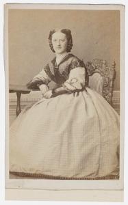 Portret van Maria Gesina Wicherlink (1837-1872)