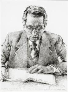 Portret van Bernardus Cornelis Franke (1889-1953)