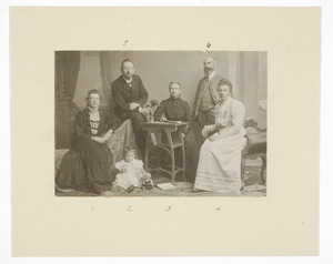 Portret van familie Schouten-Donkersloot