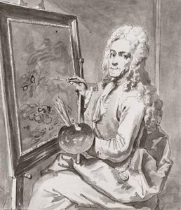 Portret van Coenraat Roepel (1678-1748)