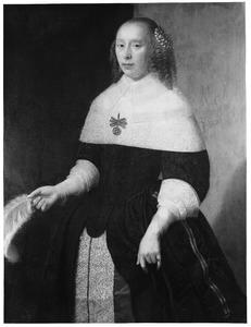 Portret van een vrouw uit de familie van Neck
