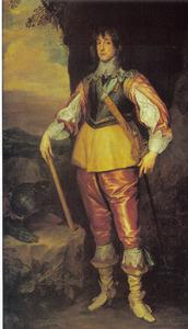 Portret van Karl Ludwig van de Palts (1617-1680), in ballingschap