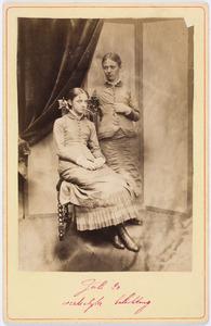 Portret van Sara Kips (1864-1965) en Cornelia Gerardina Kips (1865-1939)