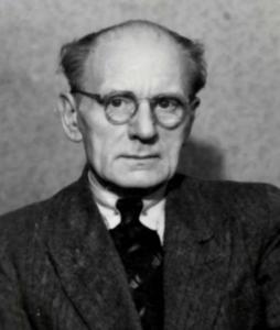Portret van Bernhard Dons