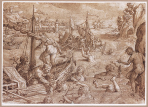 Koralenvangst in Sicilië