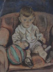 Portret van Robert Sluijters (1921-2005)