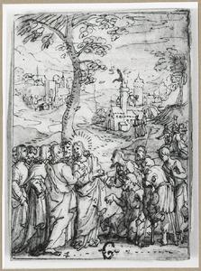 De leerlingen van Johannes de Doper stellen vragen aan Christus