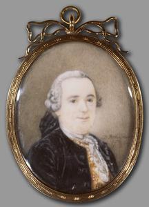 Portret van Johann Goll von Franckenstein ( -1785)