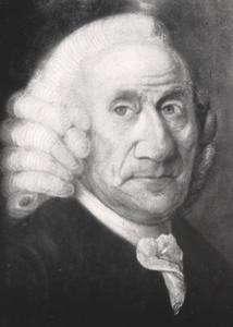 Portret van Hendrik van Oordt (1710-1805)