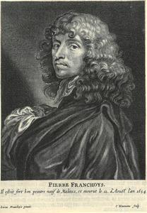 Portret van Peter Franchoys (1606-1654)