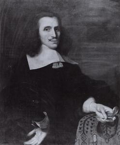Portret van Allardt Poelaert (1620-1669)