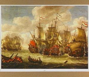 Zeeslag, mogelijk de slag van Barfleur 1662