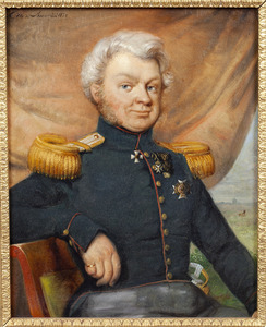 Portret van Willem Gerrit van Kretschmar (1786-1868)