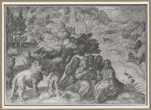 Apollonius van Tyana ontmoet de bewoners en dieren in Ethiopië