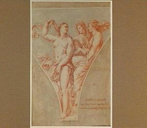 Juno en Ceres pleiten voor Psyche bij Venus (Lucius Apuleius' De Gouden Ezel)
