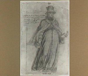 Portret van Elizabeth Richeza (1286-1335), tweede echtgenote van koning Rudolf van Bohemen (1281-1307)