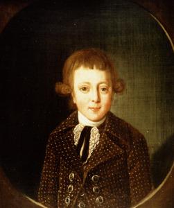 Portret van Cornelis Arent van Scheltinga (1781-1808)