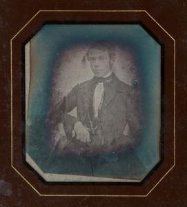 Portret van Heinrich Heegmann (1827-1904)
