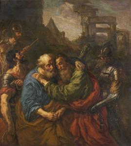 Het afscheid van de heilige Petrus en Paulus