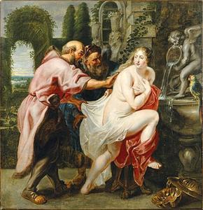 Susanna en de ouderlingen (Daniël 13:1-63)