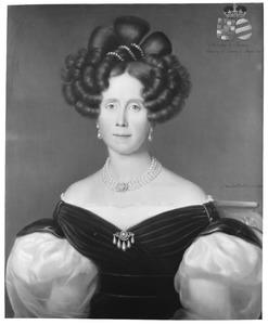 Portret van Elisabeth Wilhelmina von Massow (1793-1882)