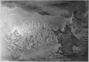 Faust bij de berg van Venus