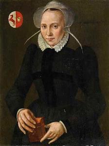 Portret van Maria van der Swan