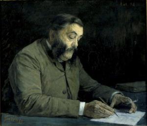 Portret van Allard Pierson (1831-1896)