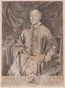 Portret van Wilhelmus Herincx (1621-1678), bisschop van Ieper