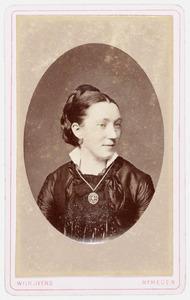 Portret van Berta van der Putte