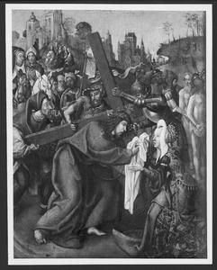 De kruisdraging met de H. Veronica