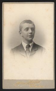 Portret van Samuel Pierre Jean Charles van Dam (1891-1946)