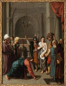 Christus en de overspelige vrouw (Joh.8:1-11)