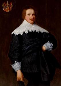 Portret van Johannes Crack (1600-1652)