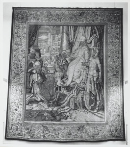De Satraap van Susa voor Alexander de Grote