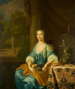 Portret van Ellegonda Theodora Linthorst (1690- )
