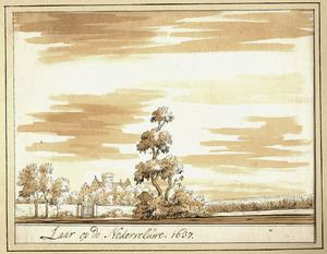 Huis Het Laar bij Ede anno 1637