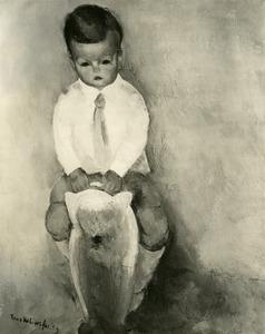 Portret van de zoon van Toon Kelder