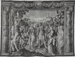 De verzoening tussen Marcus Antonius en Octavianus