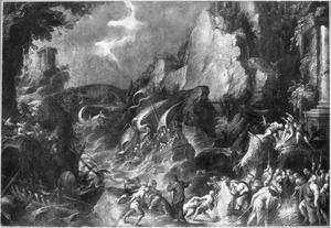 De H. Paulus leidt schipbreuk bij Malta (Hand. 28:1-6)
